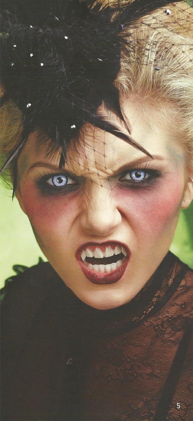 vampir záhne an malen